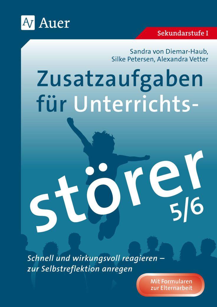 Zusatzaufgaben für Unterrichtsstörer 5-6 - Buch