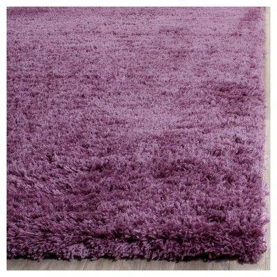 "Indie Shag Rug - Purple - (6'7""X9'2"") - Safavieh, Durable"