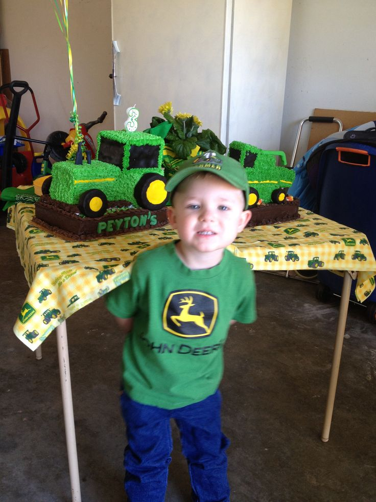 15 best john deere birthday party images on Pinterest Birthdays