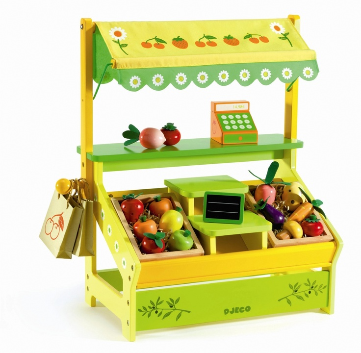 daisy 39 s market djeco toy play food pinterest toys daisies and ideas. Black Bedroom Furniture Sets. Home Design Ideas