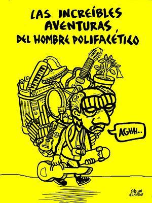 SIBUN DEMON!: LAS INCREÍBLES AVENTURAS DEL HOMBRE POLIFACÉTICO