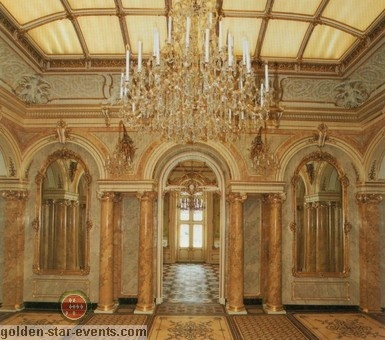 Palais Coburg in Vienna through golden star events