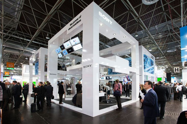 Sony stand at Medica 2014