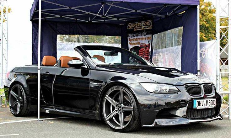BMW E93 M3 cabrio black