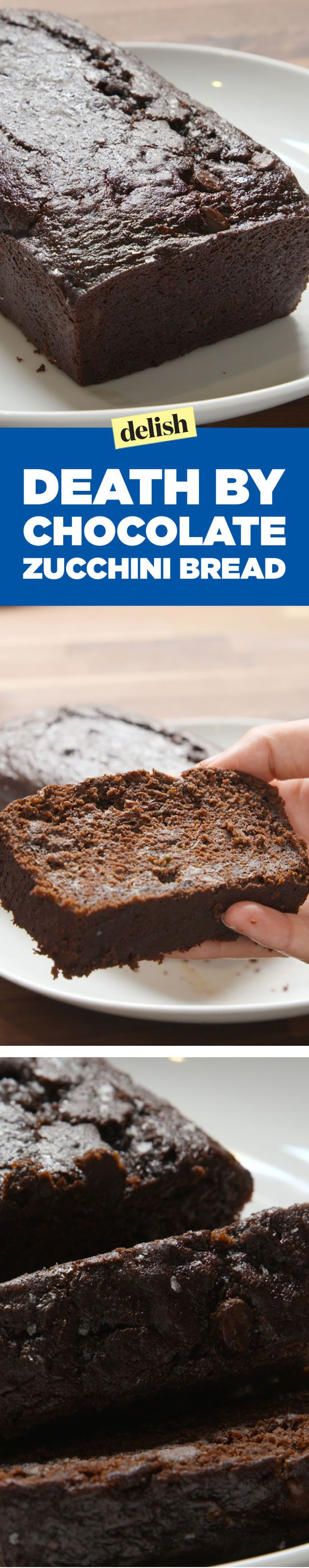 This Death by Chocolate Zucchini Bread Is The Healthiest Way To Get Your Extreme…