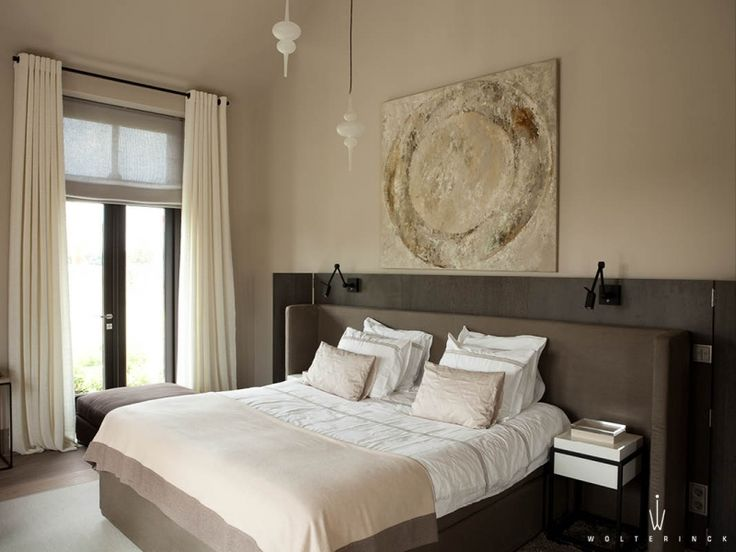 contemporary bedroom - neutrals