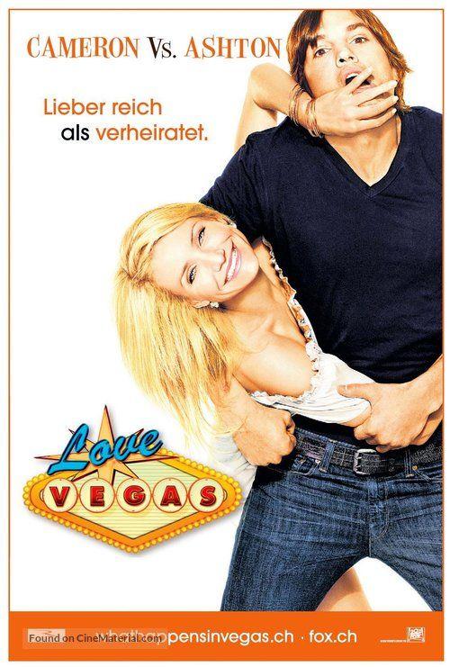 What Happens In Vegas Love Vegas 2008 Swiss Movie Poster