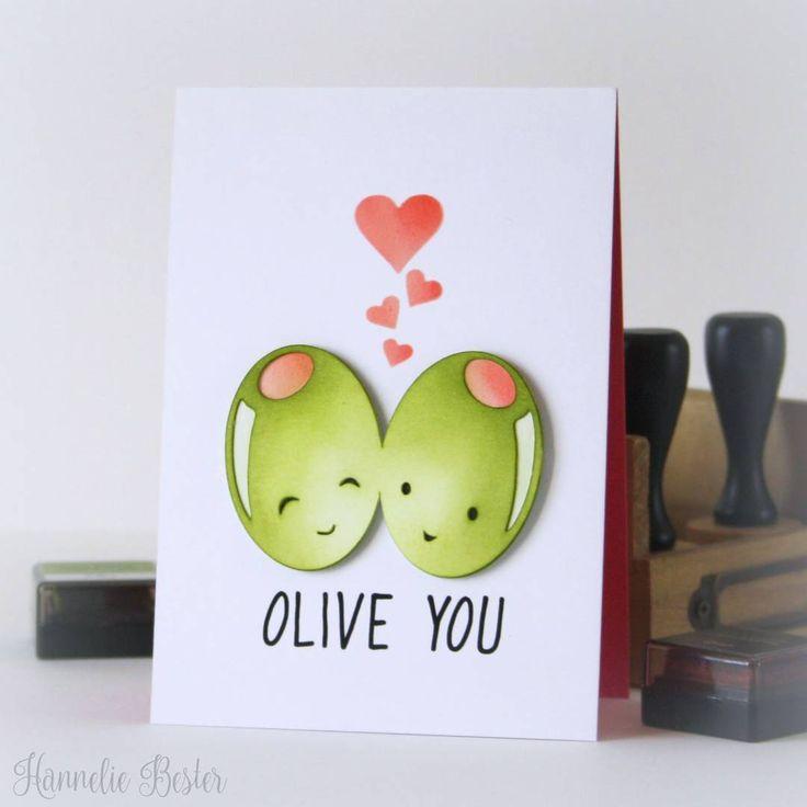 Olive You Love SVG Cuttable Design