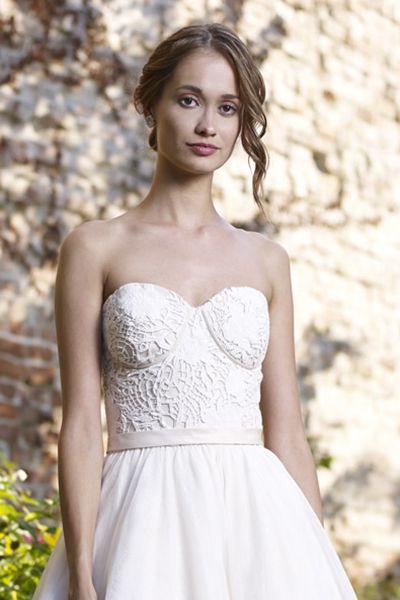 Wedding gown by Robert Bullock Bride