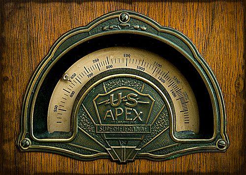 Vintage Radio Dial 39