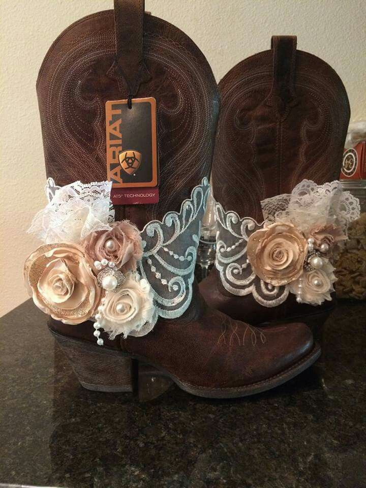 Seriously want to renew our vows just so I can wear these boots with a short white-ish cream dress LOL!