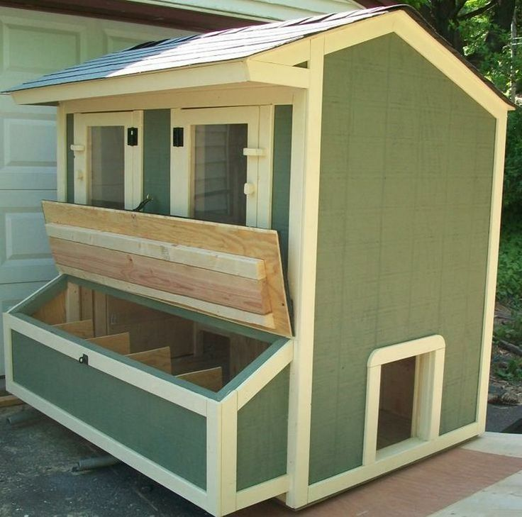 Chicken coop projects pet chickens easy diy projects for Cute chicken coop ideas