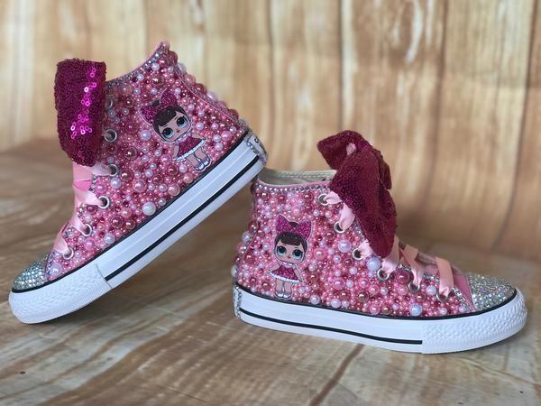 LOL Surprise Doll Custom Converse, Little Kids Size 10C-2Y | Little Ladybug Tutu… – Products