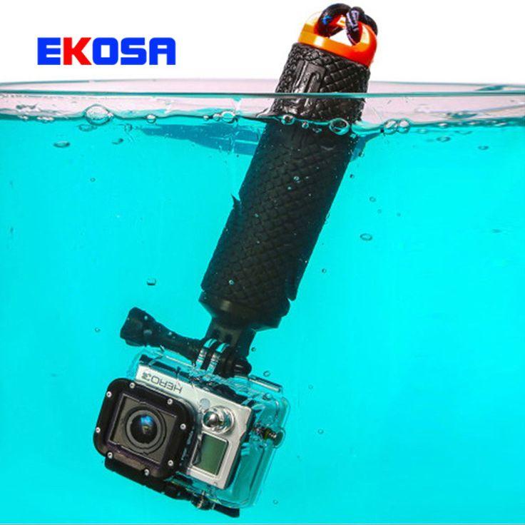 Gopro Accessories Bobber Floating Handle Grip Tripod monopod For Go pro Hero 4 3+ 3 SJCAM sj4000 Xiaomi Yi Action Camera Mount