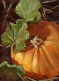 pumpkin paintings acrylic - Google Search
