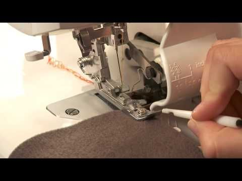 Free Serger Sewing Tip #2:  How to Sew a Two-Thread Flatlock. Click: http://www.craftsy.com/ext/Pin_BP2_20120909