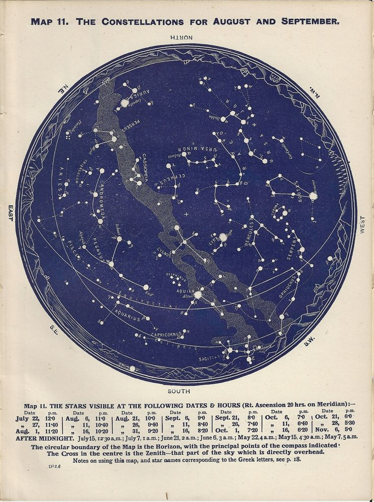 astronomy star charts constellations - 714×714