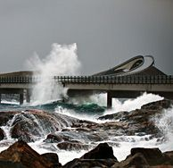 Amazing Snaps: Atlantic Road in Norway,the Scary Road