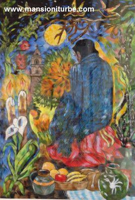 Arte en Michoacán, el Grupo Nicolaita de la Universidad Michoacana de San Nicolás de Hidalgo, expone en el Museo de Artes e Industrias Populares de Pátzcuaro. ARTE PLUMARIO