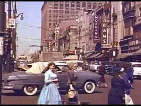1950's Philadelphia and surrounding towns. Downtown scenes ...