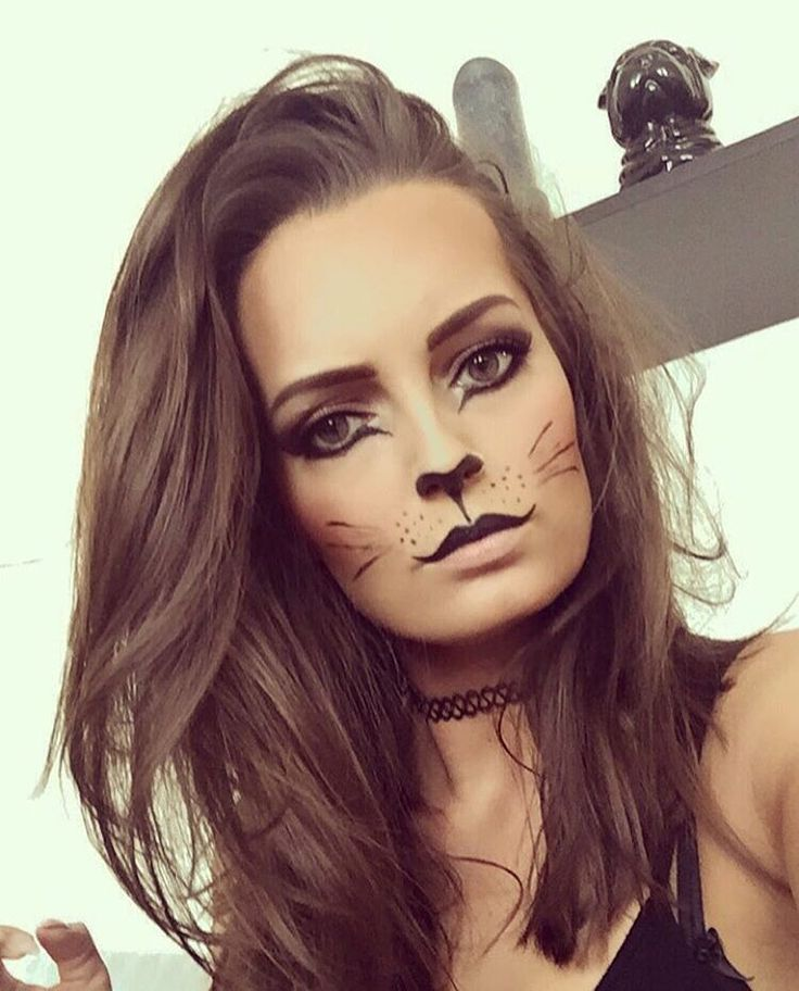 catmakeup instagram photos and videos easy cat makeupcat halloween - Cat Eyes Makeup For Halloween