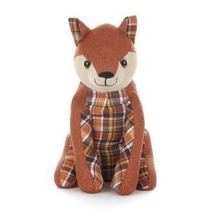 Fabric Fox Doorstop