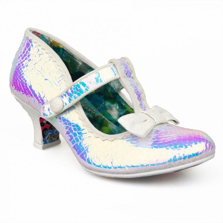 Lazy River Iridescent Shoes by Irregular Choice #wedding #weddingshoes