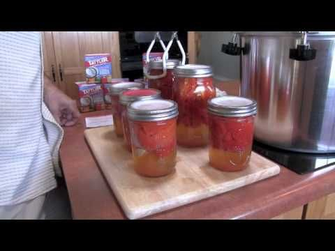 Tattler canning instruction