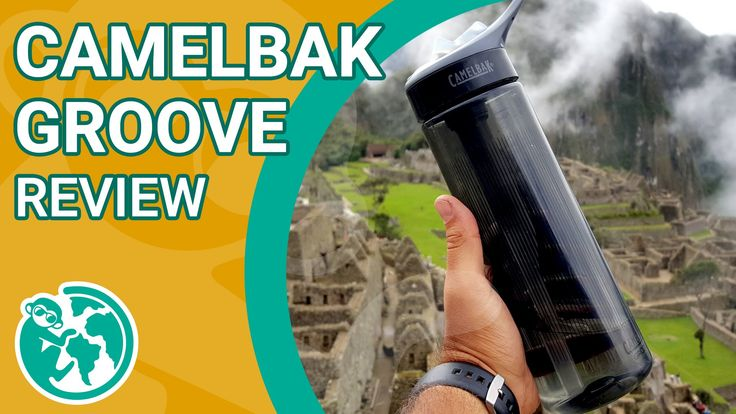 Camelback Groove 750ml | Review | Viagem Primata