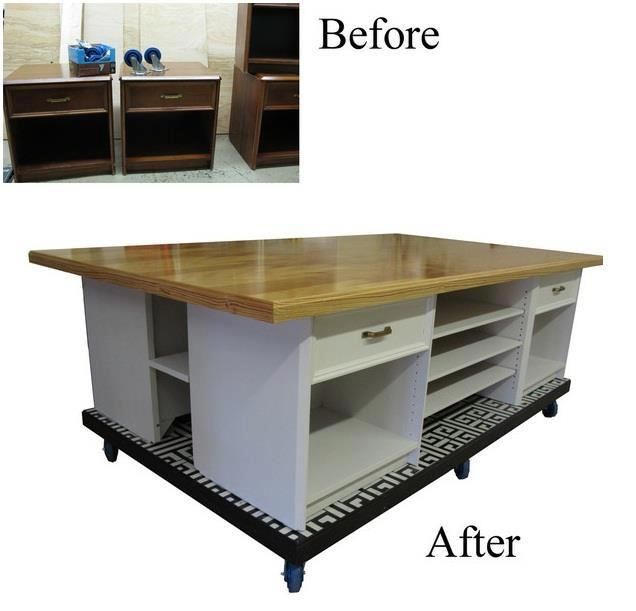 32 Best DIY COFFEE TABLE TO KITCHEN ISLAND Images On