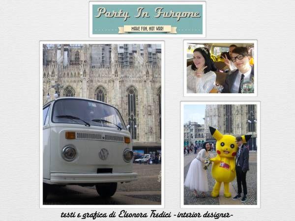 Pulmino Volkswagen per il tuo Matrimonio :)