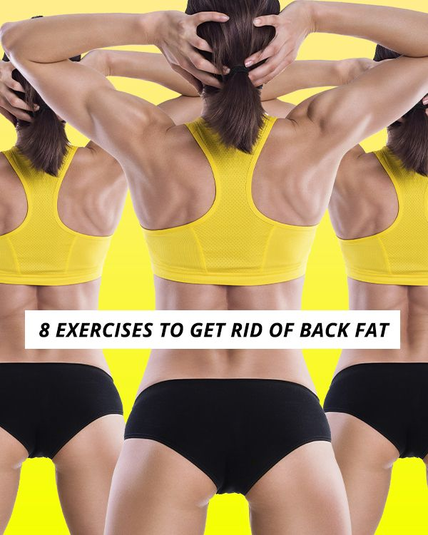 These simple strength training exercises, combined with cardio, will help you burn fat and tone every muscle in your back.