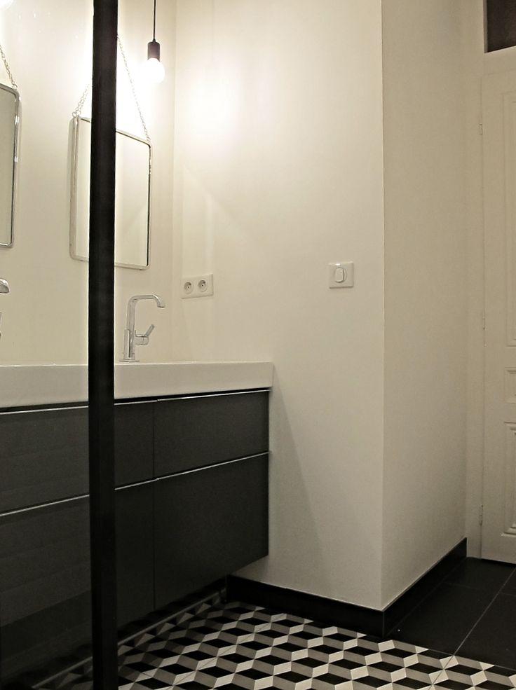15 best Installer une verrière dans une salle de bains images on - percer carrelage salle de bain