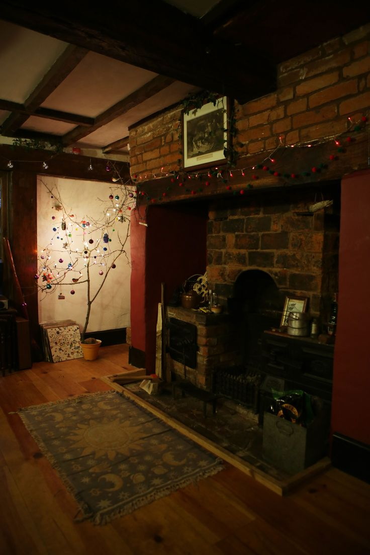 Twig Tree in our medieval house!