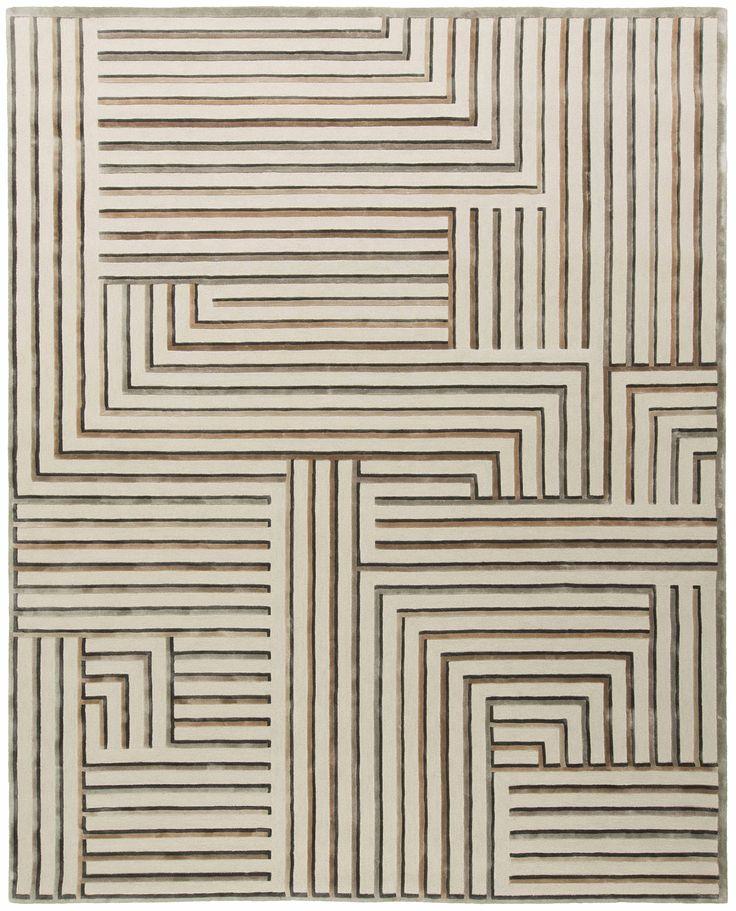Archetype BO1, Antho10gy, Tai Ping #Antho10gy #Archetype #Beige #BestOf #Contemporary #Luxury #Rug #Carpet #Tapis #Design #InteriorDesign #Deco #Art #Bespoke #Custom #Unique #HandTuft #HandMade #HandCrafted #Artisans #RugsCreatedByUs #TaiPing #HouseOfTaiPing