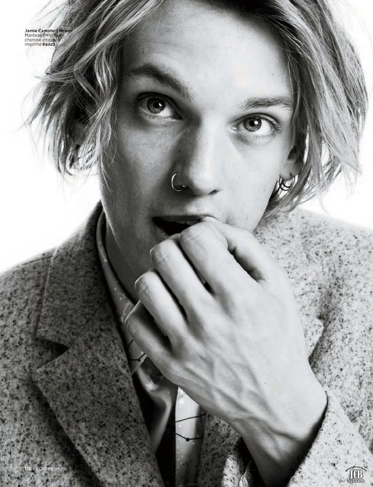 Jamie Campbell Bower - fantastic style.