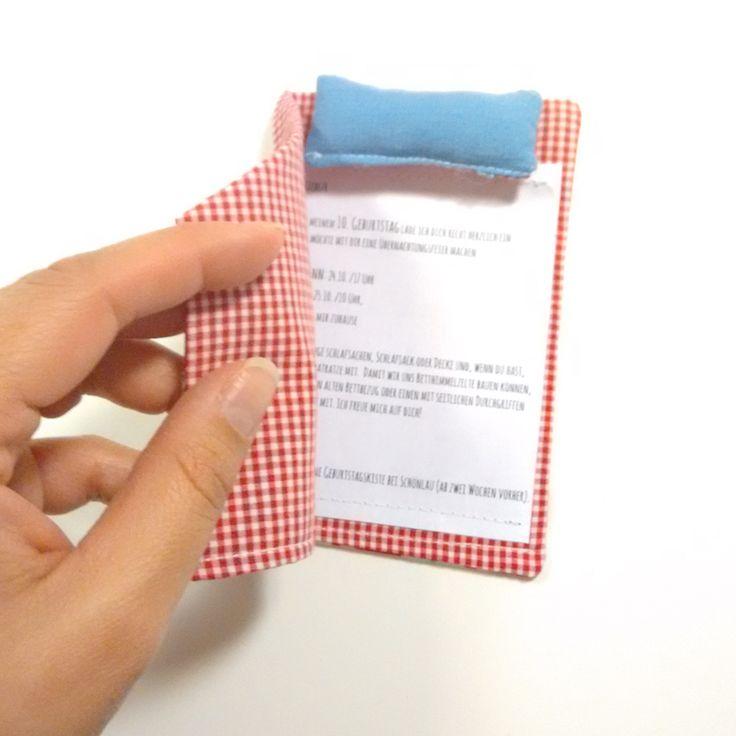 DIY-Einladung zur Übernachtungsparty | Jetztmalhalblang Blog