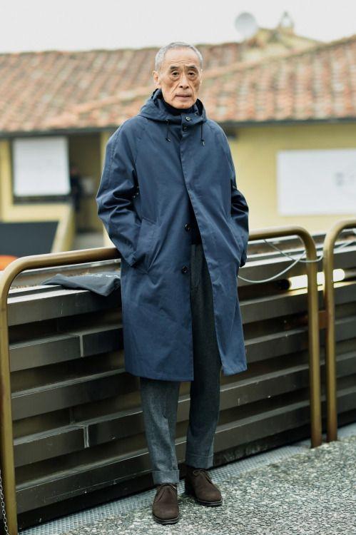 Menswear  The Master  Noboru KakutaSource: streetper.co.kr