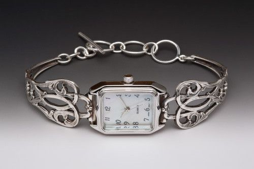 $124 Claire Watch - Silver Spoon Jewelry   This will match my ring!