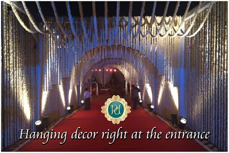 Grand #entrance at a #grand #occasion from #Pandhi #Decorators. Just click on the link and book right now: http://goo.gl/b8Yj6q
