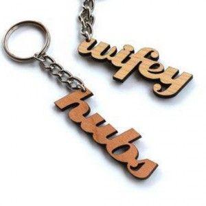 Wifey Hubs Keyrings