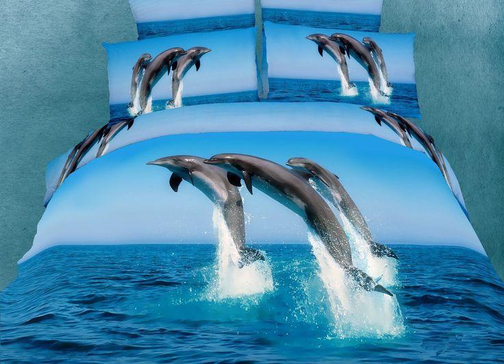 Dolce Mela Marine King Bed Luxury Bedding Duvet Cover Set