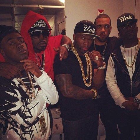 50 Cent & G-Unit at Webster Hall (06/08/2014)