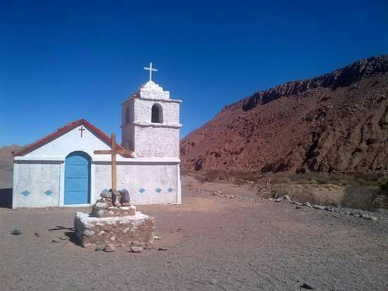 Iglesa en Catarpe. San Pedro de Atacama