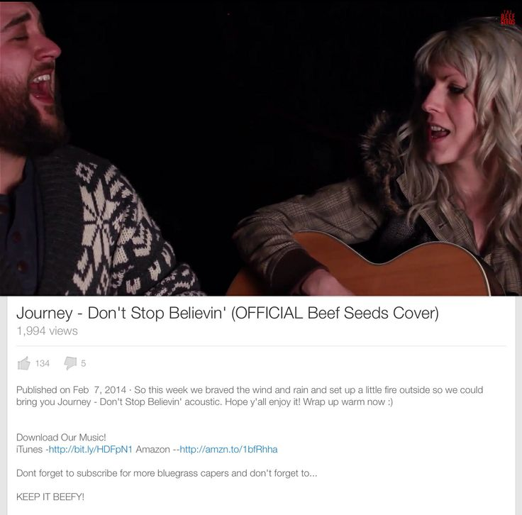Check out The BeefSeeds cover of Journey-Don't Stop Believin' @Matty Chuah Beef Seeds  #keepitbeefy