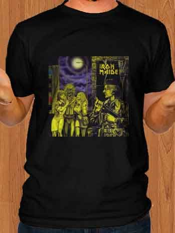 awesome Iron Maiden T-Shirt Women in Uniform from musitee.com. If you are looking for band t-shirts, vintage band tee, rock t-shirt, or any kind of music merchandise, go follow me to get more info.