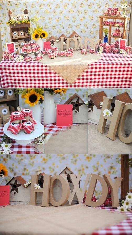 Texas themed bridal party shower | Marcella Treybig Photography Blog
