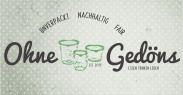 Ohne Gedöns GmbH in Hamburg ist zerowaste. Wir bieten nachhaltigen und unverpackten Konsum: Lebensmittel aus überwiegend ökologischem Anbau, Drogerie- und Haushaltswaren, Produkte Hamburger Designer und Textilien.