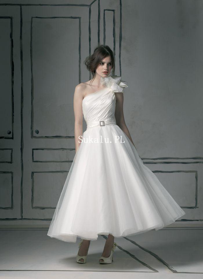 Krótki Suknie Ślubne