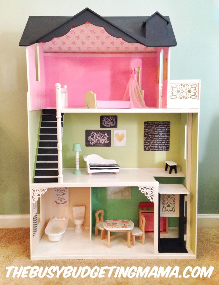 15 best doll house images on pinterest doll houses for Young house love dollhouse